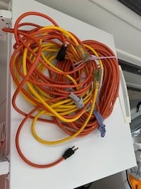 3 Extension cords 2 x15ft, 1x50ft Sterling, 20164