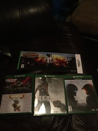 Xbox one games (halo 5 gears of war, pubg + more) 387 mi