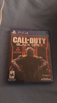 PS4 Call of Duty Black Ops III case Lorton, 22079