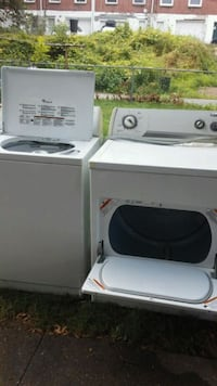 white washer and dryer set Harrisburg, 17104