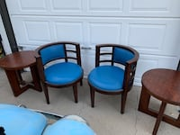 Accent tables and chairs Ventura, 93001