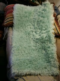 Beautiful rug 26 inches wd 4 ft long