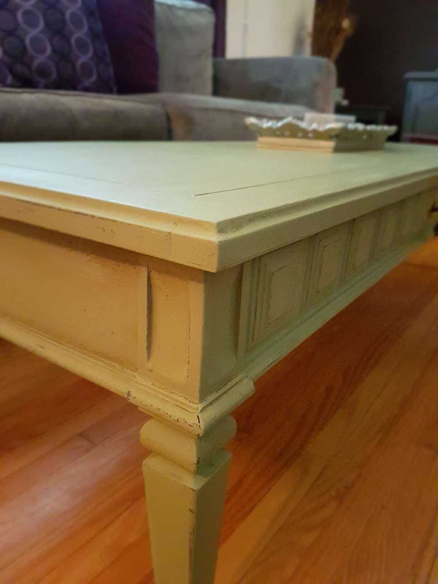 Refinished Coffee Table In Winnipeg Letgo