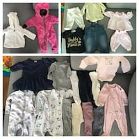22pcs diverse baby clothes from size 50 Oslo, 1271