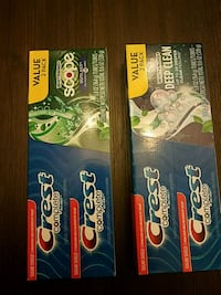 Two twin packs for Crest toothpaste Randallstown, 21133