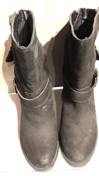 "Shoes Steve Madden suede booties size 8.5 , 3.5"" heel Owings Mills, 21117"