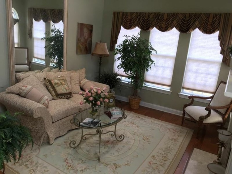 Home new jersey swedesboro home and garden model home living room set