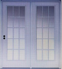 (2) French doors (New) Indian Head, 20640