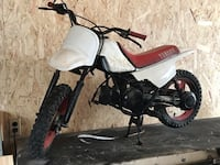 white and red dirt bike Saint-Alphonse, J0E 2A0