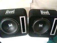 """Set of 8"""" Dual Subs Henderson, 89015"""