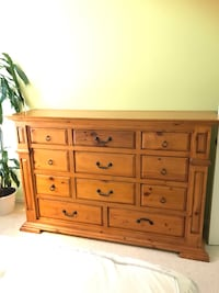 Tall Dresser with 11 drawers 48 1/2 X 68 1/2 Hercules, 94547