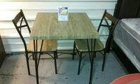 3 Piece Brand New Dining Table Set  Kenner, 70062