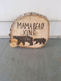 Mama bear free standing sign Youngstown