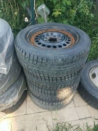 rims and tires  205/65 r15
