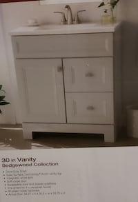 "24"" Wood Bathroom Vanity"