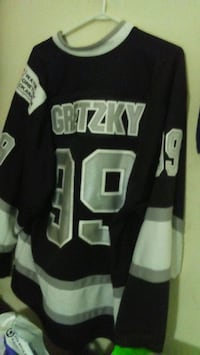 L.A kings authentic NHL jersey Vancouver