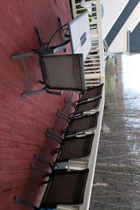 Patio table and 6 chairs Triangle, 22172