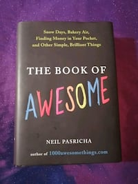 The Book of Awesome hardcover book