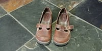 pair of brown leather shoes Canmore, T1W 1N5