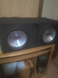 black and gray subwoofer speaker Cudahy, 53110