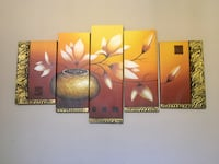 5 piece Flower painting Whittier, 90603