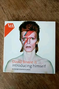 David Bowie V&A 16 exhibition postcards Greater London, N4 1FF
