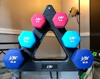 Dumbbells w/ stand San Diego, 92126