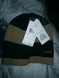 black and brown knit cap Springfield