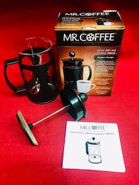 Mr. Coffee French Coffee Press Brews 20 oz Modern Design Easy to Clean NEW Las Vegas, 89131