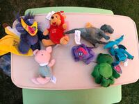 Variety of small stuffed animals  Chicago, 60638