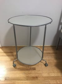IKEA glass side table / night table  Delta, V4C 3H2