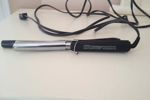 Black curling iron