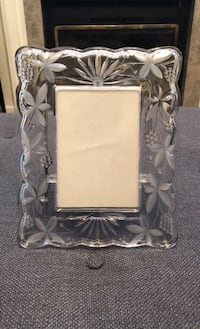 Crystal picture frame  Chantilly, 20151