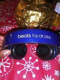 blue and black Beats by Dr Charlotte, 28216