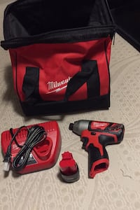 Milwaukee m12 impact battery charger and bad brand new