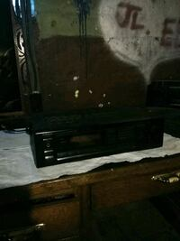 black flat screen TV with remote Springfield, 01118