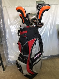 Maxfli Varsity Golf Set (with added driver and 3 wood)  Fayetteville, 30214