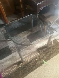 Glass end table  Edmonton, T5K 0R3