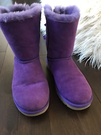Pair of purple ugg boots Halifax, B3M 1Z5