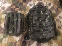 Like new backpack and lunchbox. Pick up at 71st and 257th in BA.  Broken Arrow, 74014