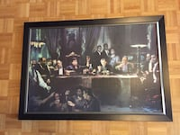 Large Painting of Legendary Gangsters $60 OBO Toronto, M3A