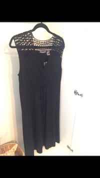 Liz Claiborne Black Maxi Dress Ashburn, 20147