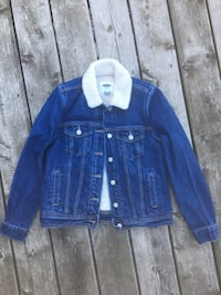 Shearling denim jacket Markham, L6C 1W9
