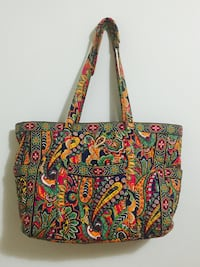 green, red, and yellow Vera Bradley tote bag Sayreville, 08872