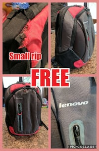 red and black lenovo backpack Saint Joachim, N0R 1S0