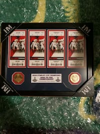 Road to champion commemorative ticket collection  Toronto, M1J 2G3
