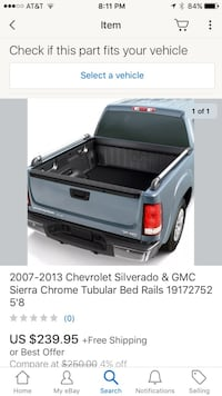 2007-2013 GMC CHEVY Tubular Side Rails