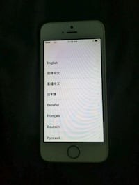 silver iPhone 5s with case Hauppauge, 11788