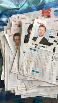 used 60 blank people magazine crossword puzzles for sale in parker
