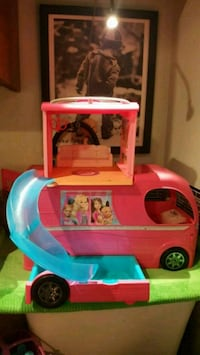 toddler's pink and blue ride on toy car Norwalk, 90650
